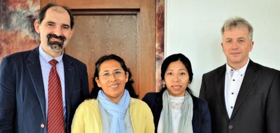 SCEAV navštívily zástupkyně Peruánské luterské církve
