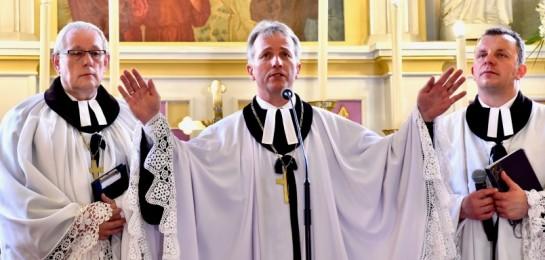 Nový biskup SCEAV byl uveden do úřadu