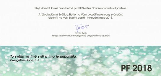 Vánoční přání biskupa Tomáše Tyrlíka